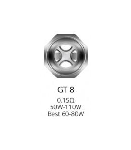 Résistances GT8 pour NRG Tank par 3 - Vaporesso