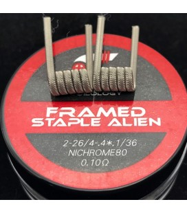 Framed staple Alien by Coilology