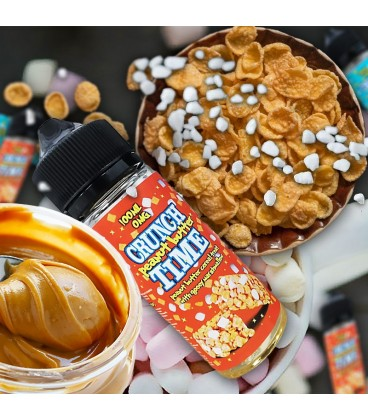 California Vaping Co CRUNCH TIME Peanut Butter (100 ml)