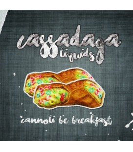 CANNOLI BE BREAKFAST par Cassadaga Liquids
