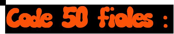 code50fioles